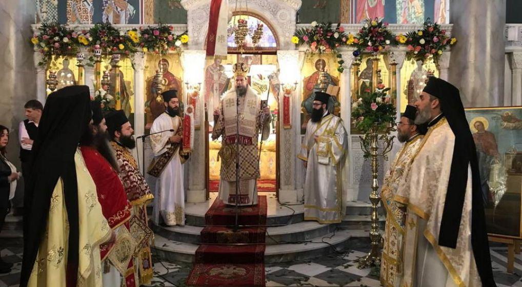 Η εορτή του Αγ. Γεωργίου του Τροπαιοφόρου στην Ι.Μ. Νέας Ιωνίας και Φιλαδελφείας