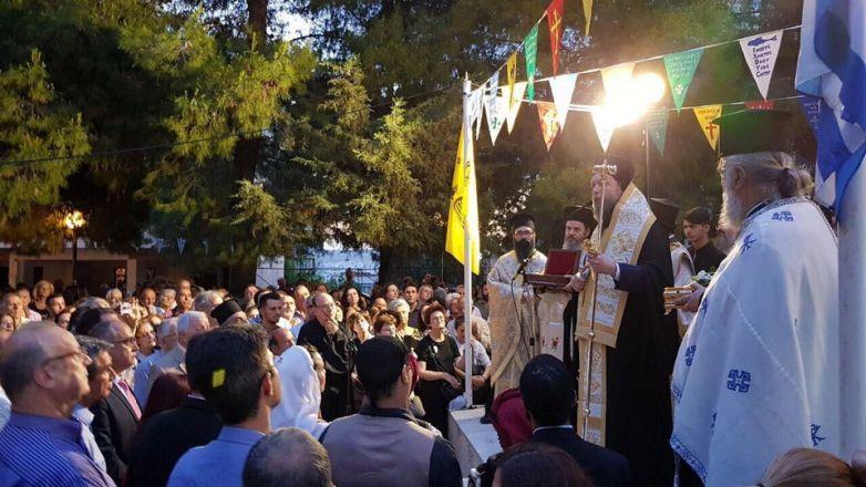 Μεθέορτος Εσπερινός και Λιτάνευση Ιεράς Εικόνος Αγ. Τριάδος στο Ηράκλειο Αττικής