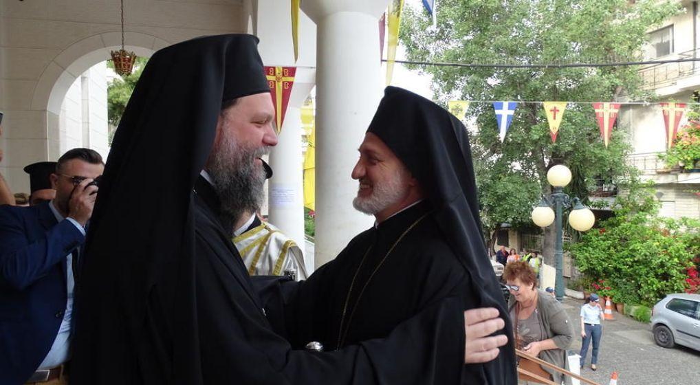 Ο νέος Αρχιεπίσκοπος Αμερικής στην Ι.Μ. Νέας Ιωνίας και Φιλαδελφείας