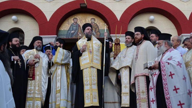 Μεθέορτος Εσπερινός και Λιτάνευση Ιεράς Εικόνος Αγ. Αναργύρων στη Νέα Ιωνία