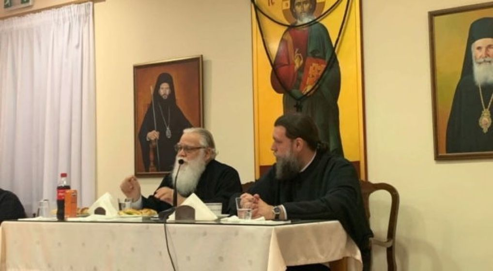 Ο Μητροπολίτης Θερμοπυλών κ. Ιωάννης στη σύναξη νέων της Ιεράς Μητροπόλεως