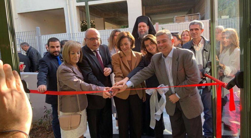 Ο Μητροπολίτης κ. Γαβριήλ εγκαινίασε το νέο Βρεφονηπιακό Σταθμό του Δήμου Ηρακλείου Αττικής