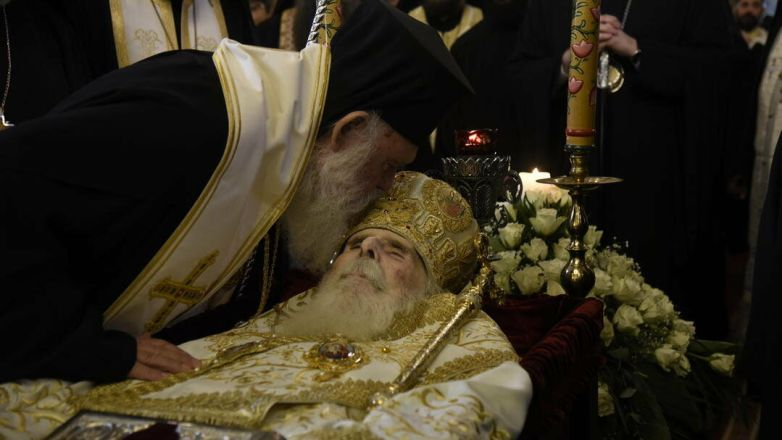 Η Εξόδιος Ακολουθία του μακαριστού Μητροπολίτου πρ. Ν. Ιωνίας και Φιλαδελφείας κυρού Κωνσταντίνου