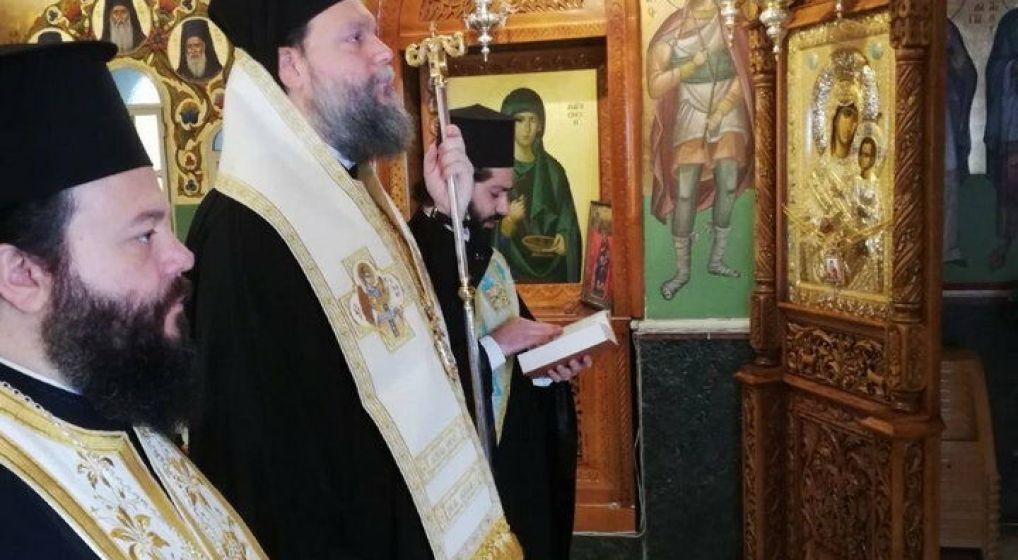 Τρισάγιο υπέρ αναπαύσεως των Ηρώων της Πίστεως και της Πατρίδος από τον Μητροπολίτη κ. Γαβριήλ