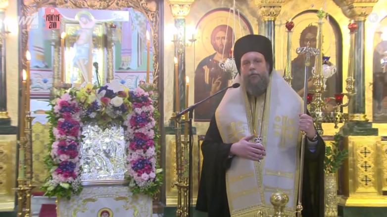 Οι Ιερές Ακολουθίες του Ακαθίστου Ύμνου και της Κυριακάτικης Θείας Λειτουργίας ζωντανά από την τηλεόραση του ΑΝΤ1