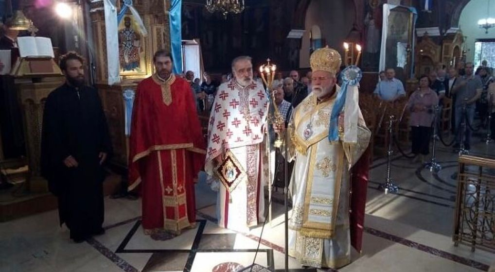 Η εορτή του Αγίου Πνεύματος στην Αγία Τριάδα Ν. Φιλαδελφείας