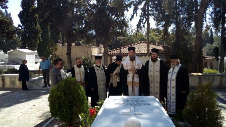 Εξάμηνο Μνημόσυνο μακαριστού Μητροπολίτου πρ. Ν. Ιωνίας και Φιλαδελφείας κυρού Κωνσταντίνου