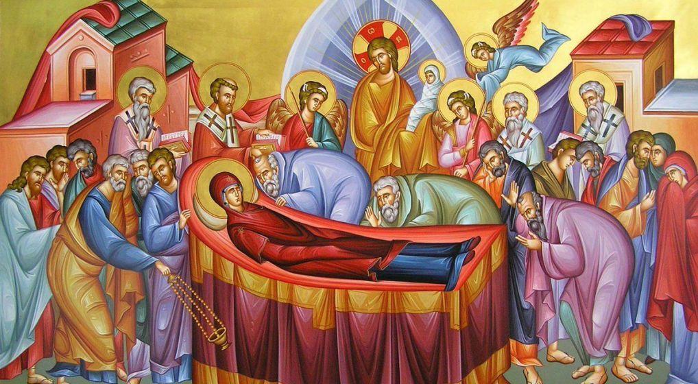 Εορτή Κοιμήσεως της Θεοτόκου στο Ηράκλειο Αττικής