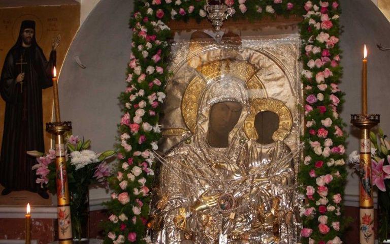 Προεόρτιος Αγρυπνία για την Παναγία Βουρλιώτισσαστη Ν. Φιλαδέλφεια