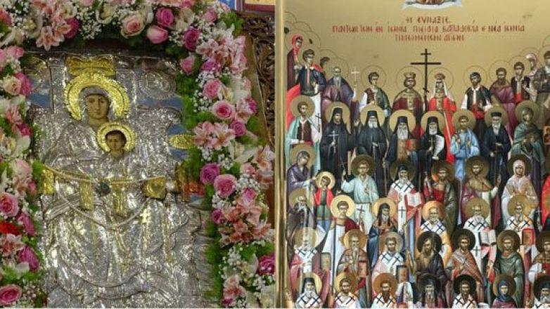 Εορτή Συνάξεως Θαυματουργού Εικόνος Παναγίας Διασωζούσης και πάντων των εν Ιωνία, Καππαδοκία, Πισιδία και Ν. Ιωνία τιμωμένων Αγίων στη Ν. Ιωνία