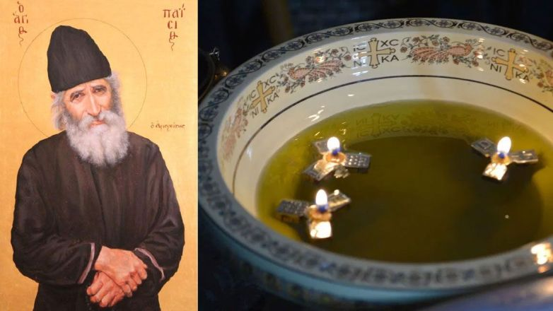 Ιερό Ευχέλαιο και Ιερά Παράκληση στον Όσιο Παΐσιο τον Αγιορείτη στον Μητροπολιτικό Ναό Αγ. Αναργύρων Ν. Ιωνίας