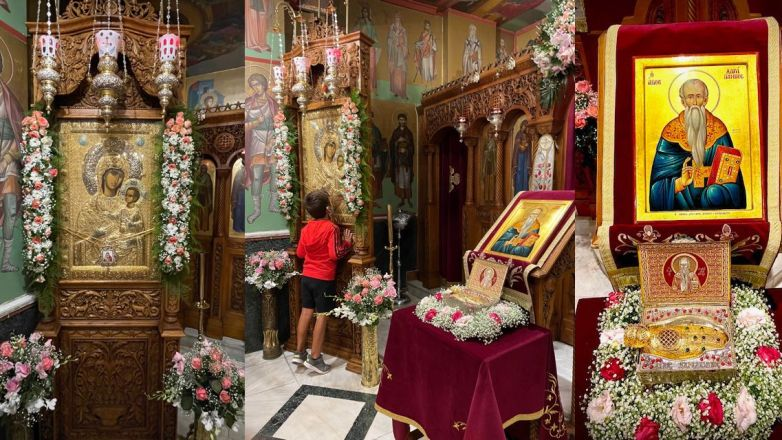 Μέγας Εσπερινός Παναγίας Βηματάρισσας στη Νέα Ιωνία