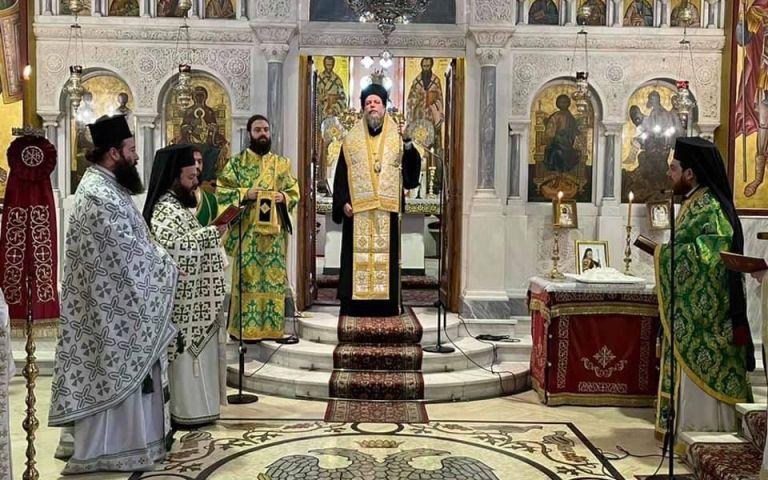 Εορτή του Οσίου Χριστοδούλου του εν Πάτμω και Μνημόσυνο Αρχιεπισκόπου Αθηνών κυρού Χριστοδούλου στη Ν. Ιωνια