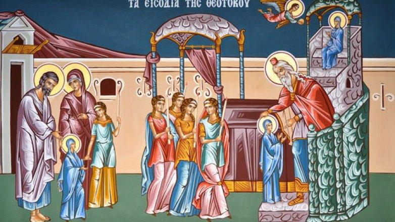 Αγρυπνία στον Ι.Ν. Κοιμήσεως της Θεοτόκου Πρασίνου Λόφου επί τη Αποδόσει της Εορτής των Εισοδίων