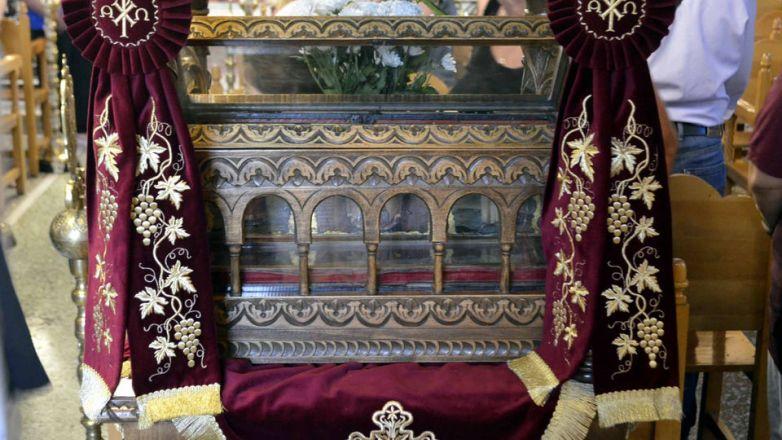 Ανακομιδή Ιερών Λειψάνων Αγίου Πρωτομάρτυρος Στεφάνου
