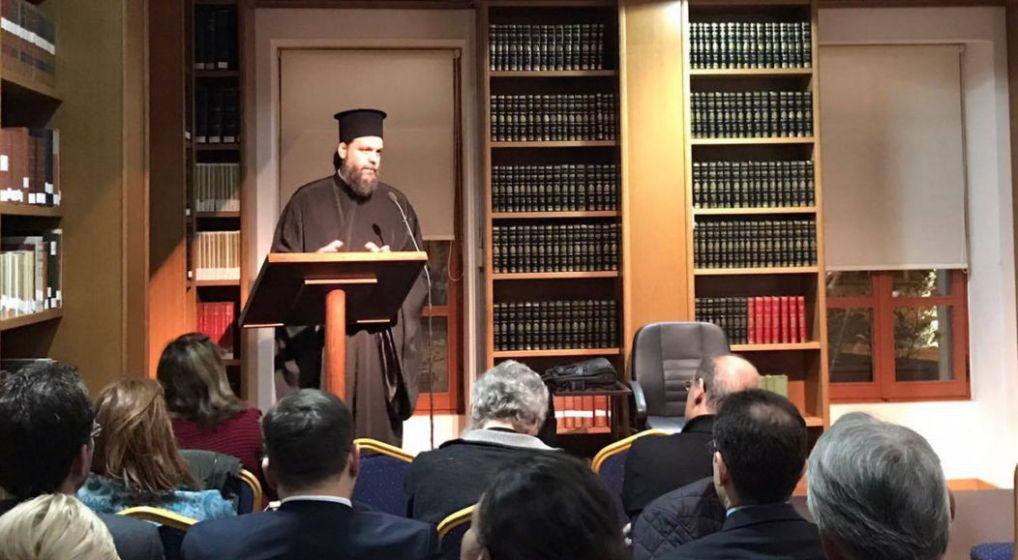 """Εισήγηση Μητροπολίτου κ. Γαβριήλ στο Σεμινάριο Κανονικού Δικαίου της Βιβλιοθήκης της Ιεράς Αρχιεπισκοπής Αθηνών με θέμα: """"Σχέσεις Εκκλησίας και Πολιτείας"""""""