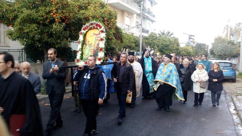 Η Εορτή του Ευαγγελισμού στον Ι.Ν. Ευαγγελισμού της Θεοτόκου Ν. Χαλκηδόνας