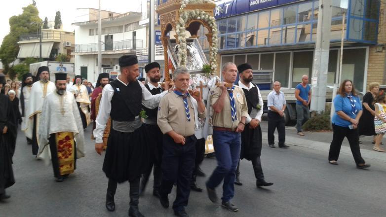 Η Εορτή του Αγ. Κοσμά του Αιτωλού στη Ν. Φιλαδέλφεια