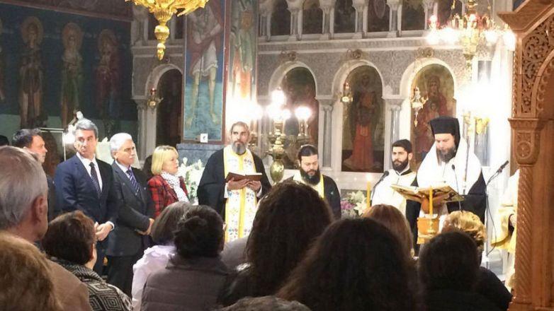 Ιερό Ευχέλαιο από τον Μητροπολίτη κ. Γαβριήλ στον Ι.Ν. Αγ. Ευφημίας Ν. Χαλκηδόνος