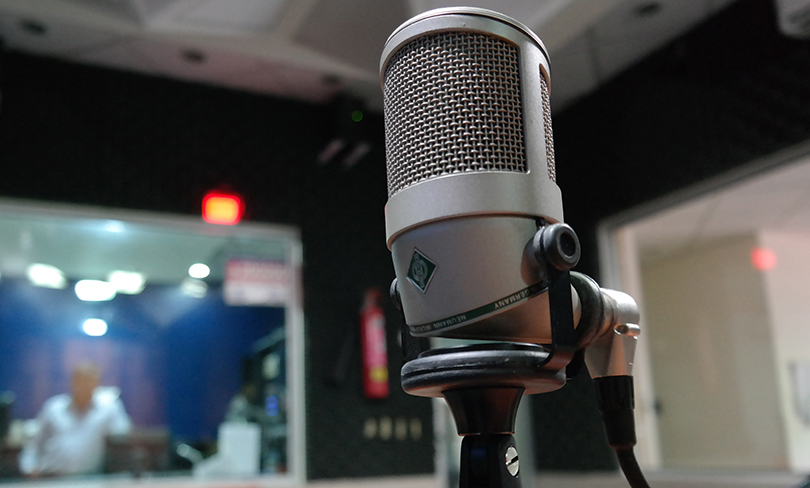 photo of microphone