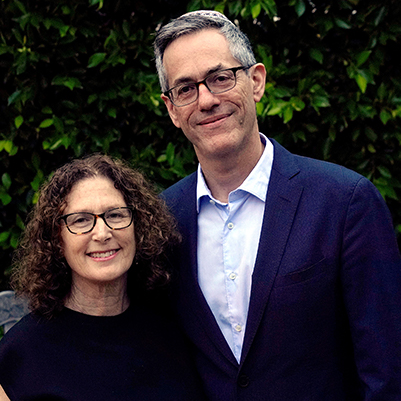 Photo of David N. Myers and Nomi Stolzenberg - photo by Patricia Williams