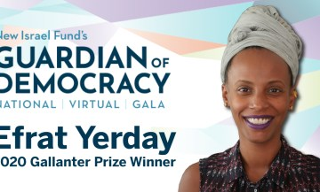 Guardian of Democracy Gala 2020 - Efrat Yerday - Gallanter Prize Winner social share image
