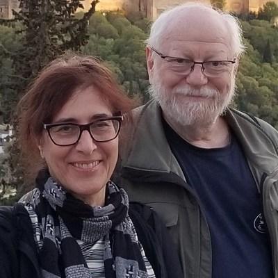 photo of Efrim Boritz and Naomi Fromstein