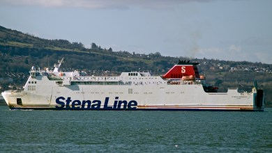 Photo of Stena Nordica arrives in Dunkerque