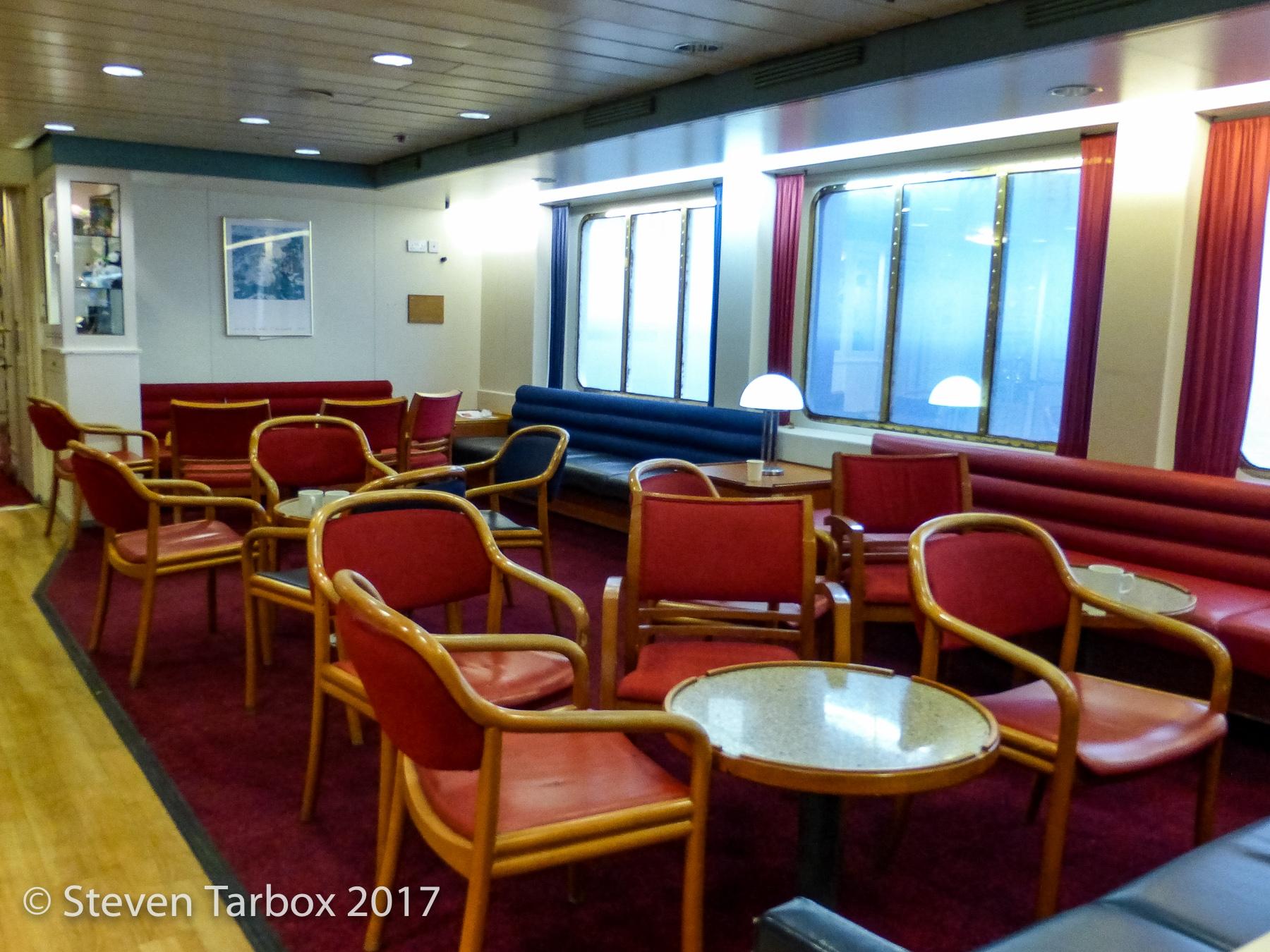 EUROPEAN SEAWAY bar seating area. © Steven Tarbox