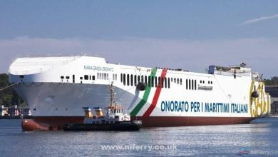 Photo of FSG launch second new ferry for Onorato subsidiary Tirrenia