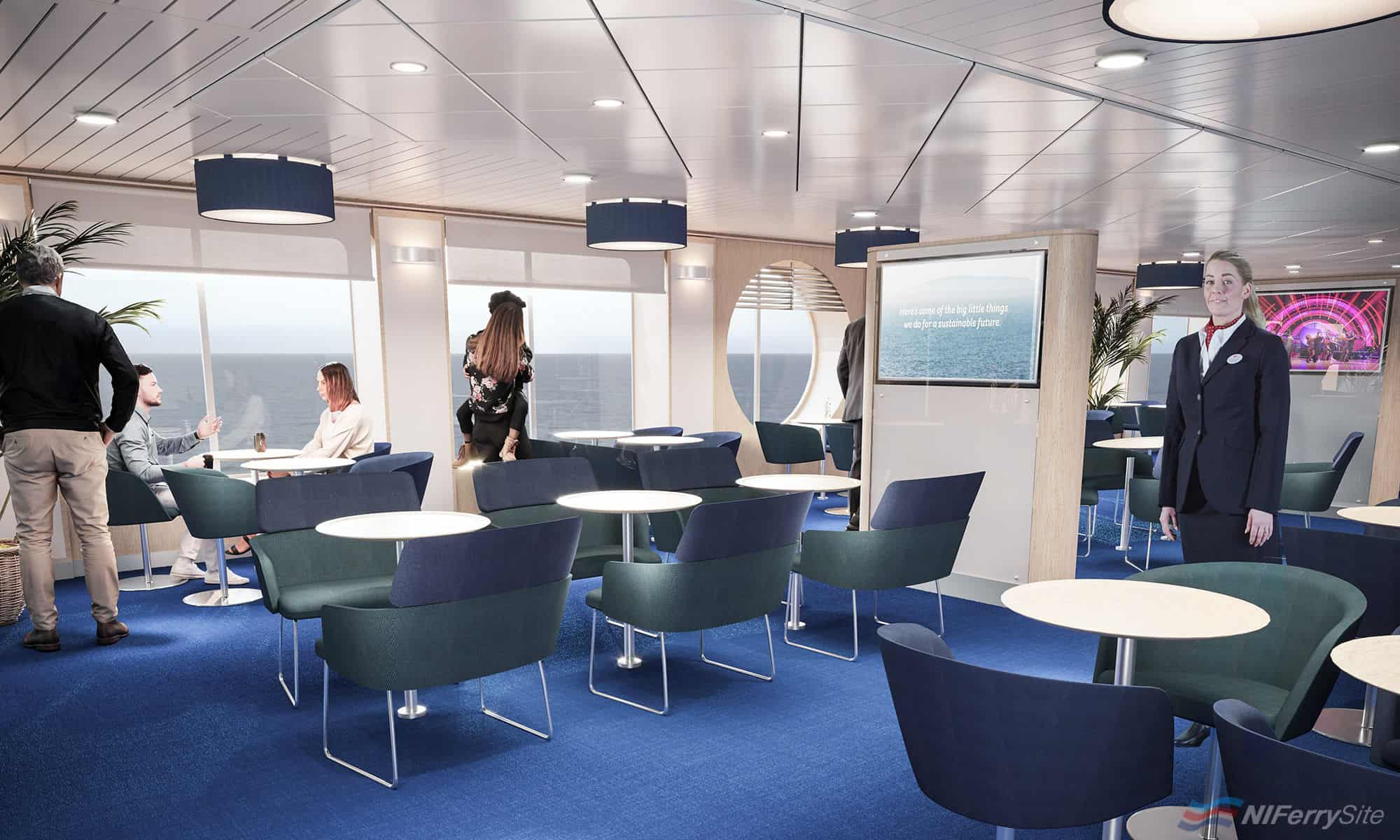 Living Room Lounge. © Stena Line