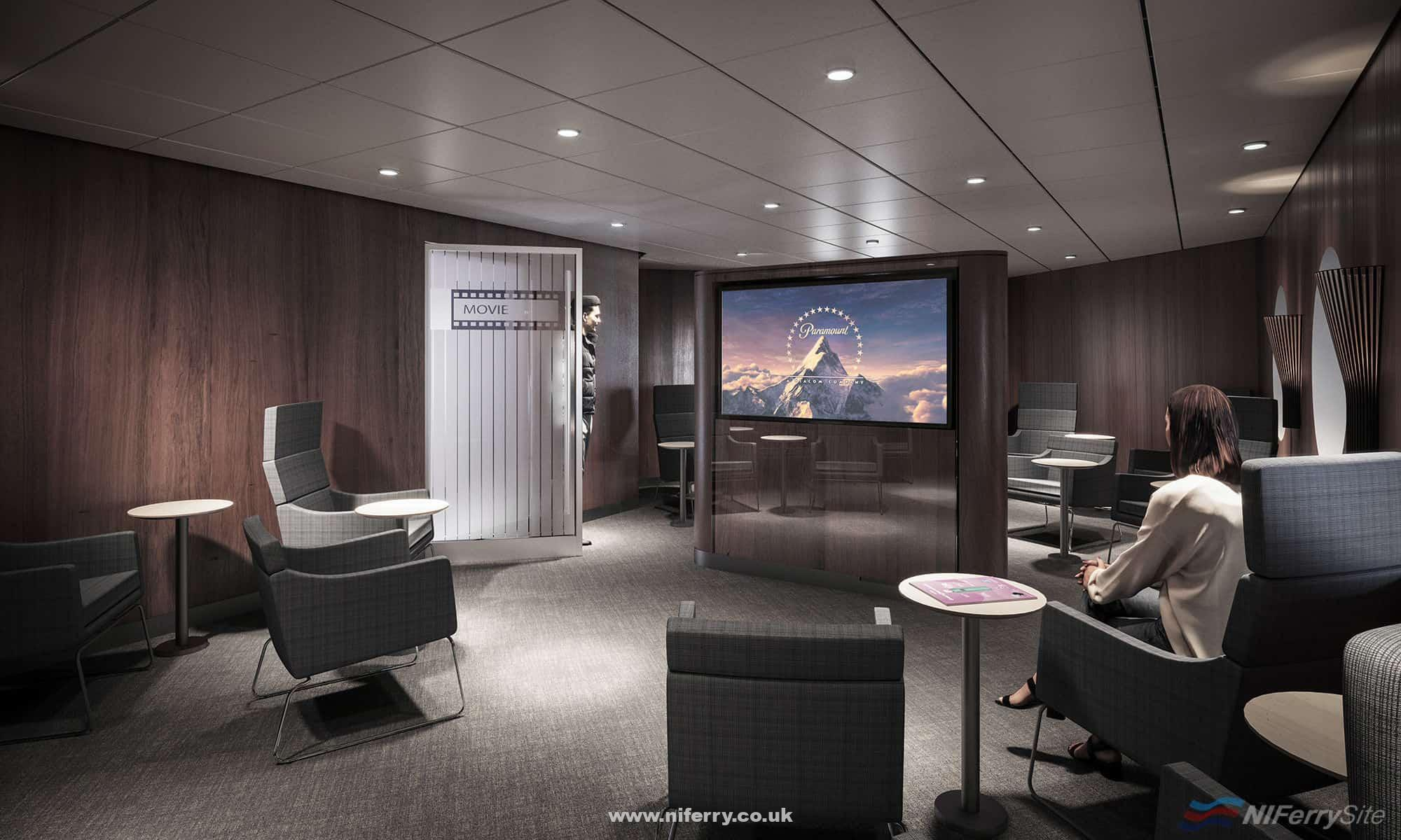 Movie Lounge. © Stena Line