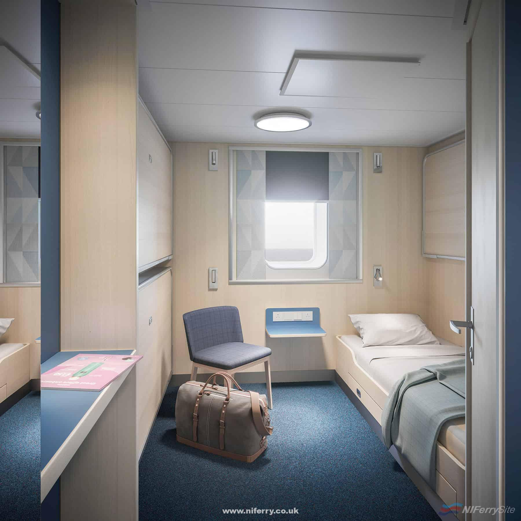 Standard Cabin. © Stena Line.