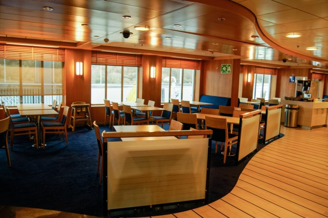 Another shot of the met grill, this time of the starboard side seating. Copyright © Steven Tarbox