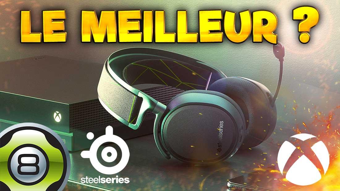 Le meilleur casque sans fil sur Xbox ? SteelSeries ARCTIS 9X