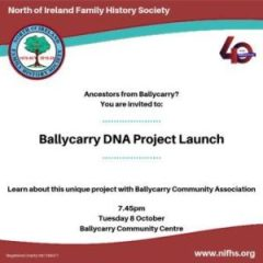 Ballycarry Launch Event