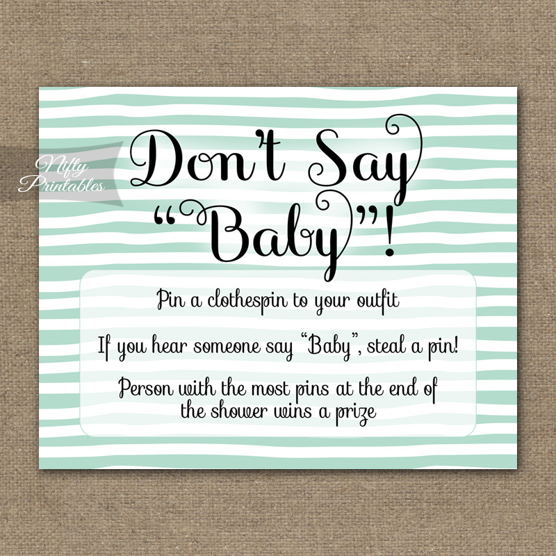 I Don T Want Baby Shower