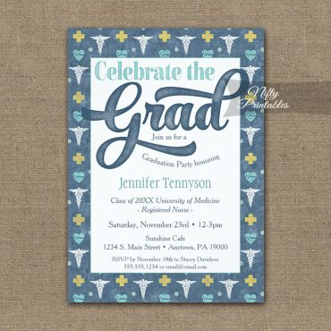 Graduation Invitations Graduation Decorations Printed