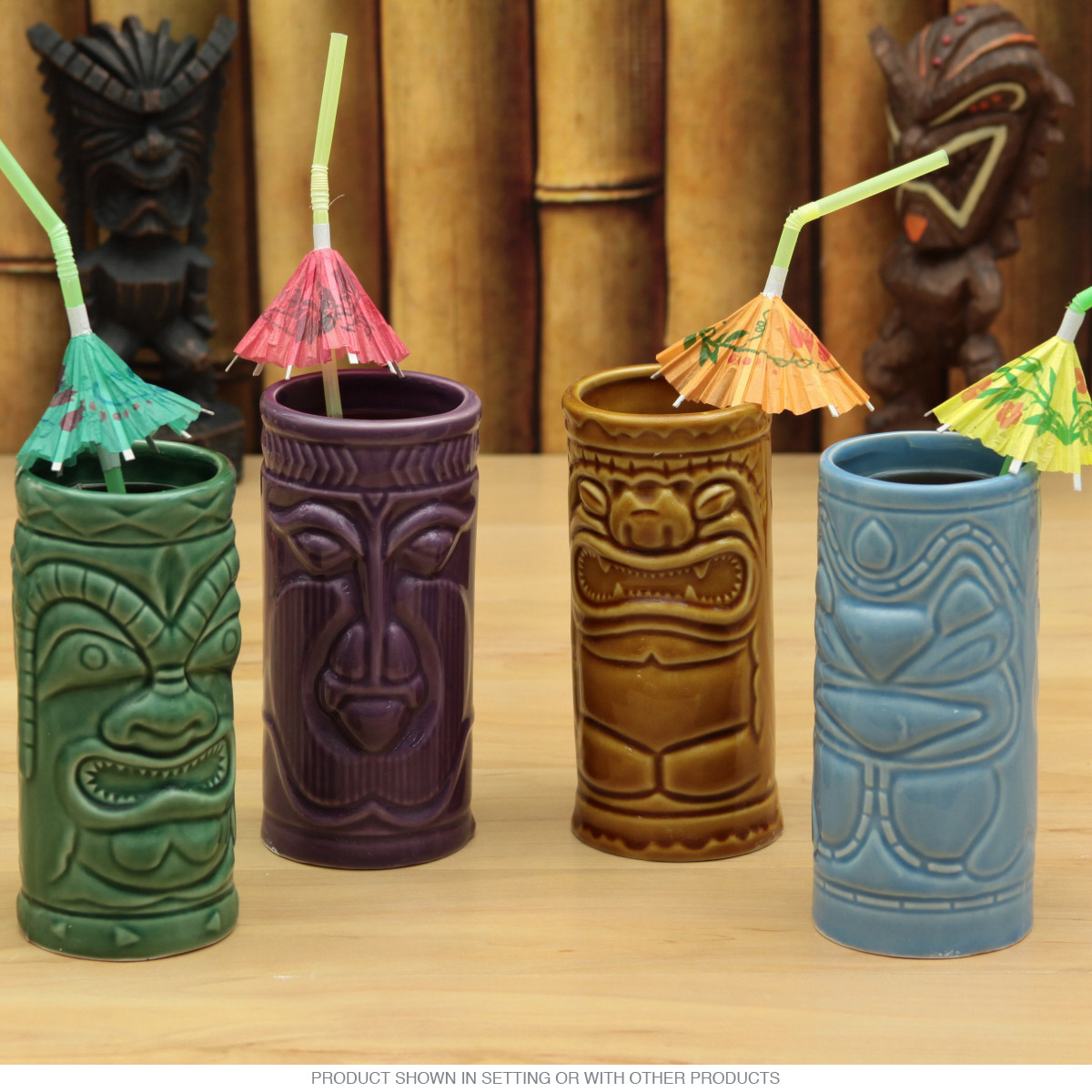 Ceramic Tiki Mugs