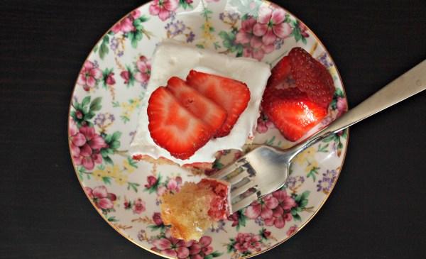 Strawberry Jello Cake Recipe From Scratch: Strawberry Poke Cake (From Scratch!)