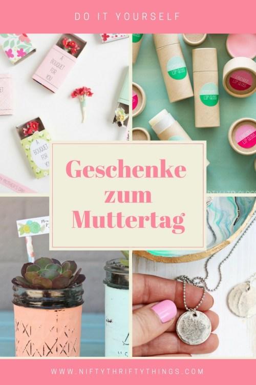 10 DIY Geschenkideen zum Muttertag von {nifty thrifty things}