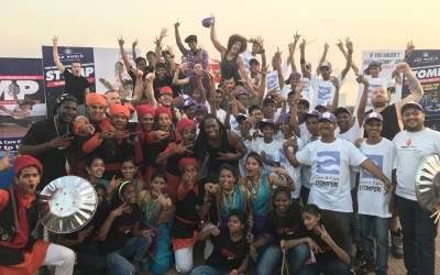 STOMP in Mumbai with Dharavi Rocks