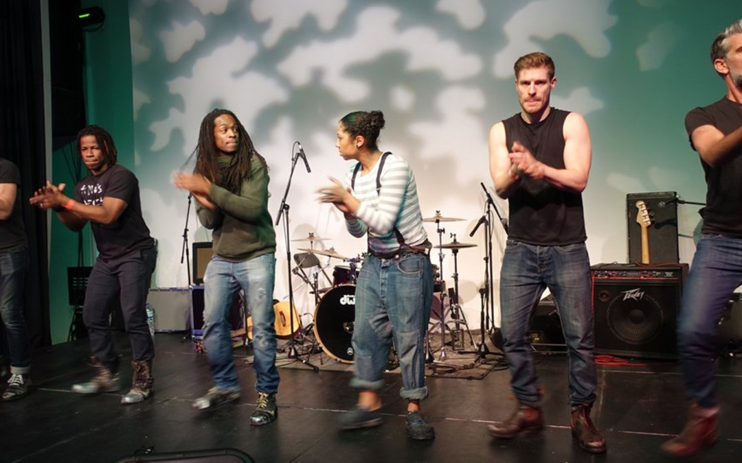 STOMP play Anno's Africa charity gig