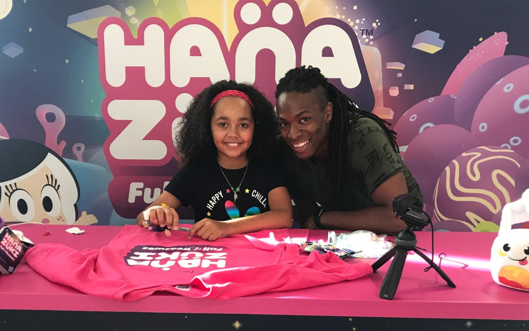 Tiana – Hanazuki Meet and Greet and Competition