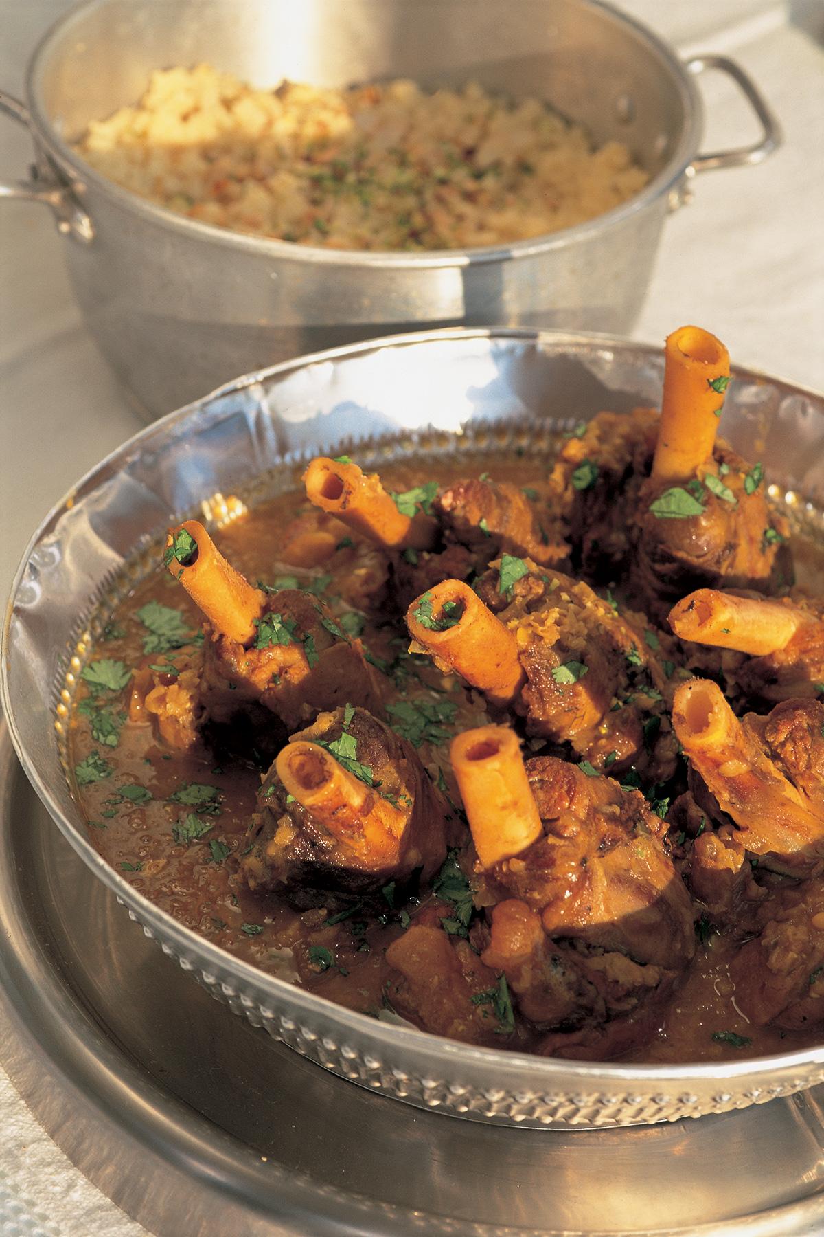 Aromatic Lamb Shank Stew  Nigellas Recipes  Nigella Lawson