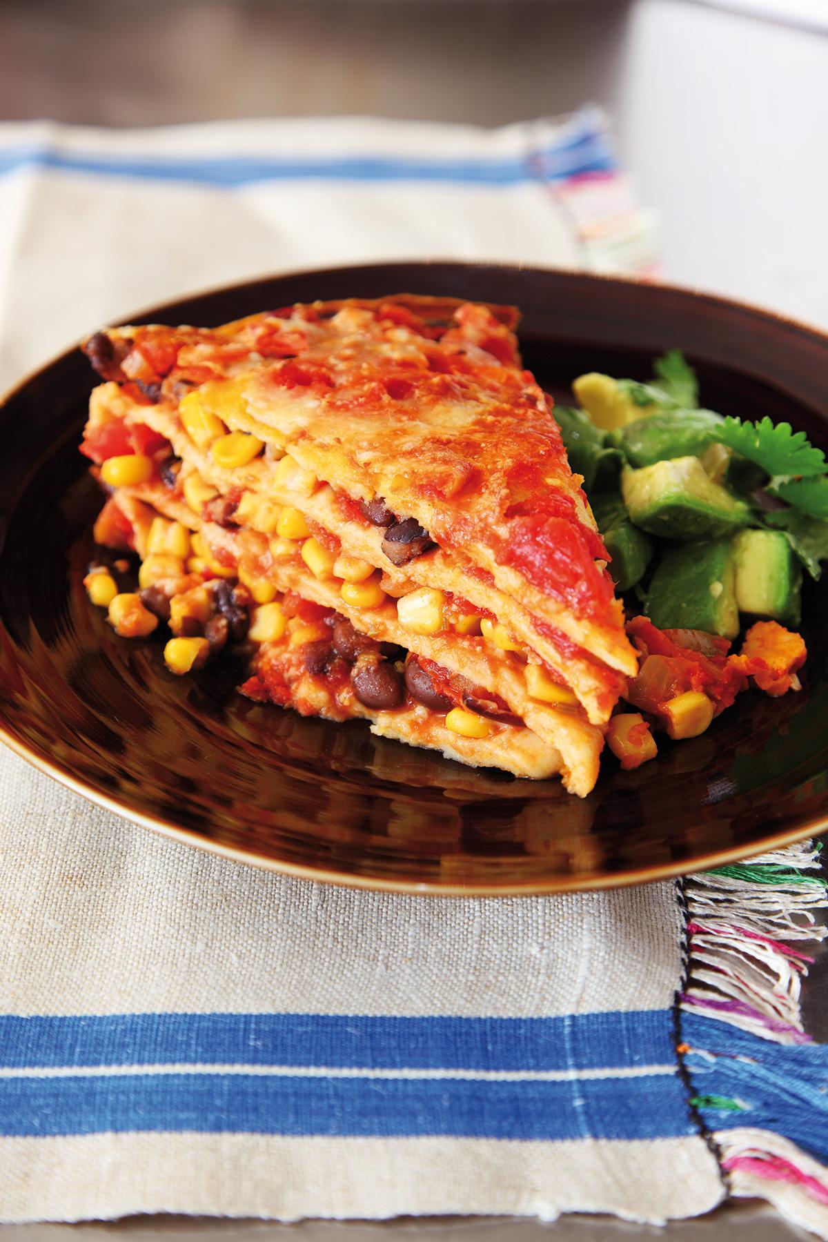 mexican lasagne nigella s recipes lawson