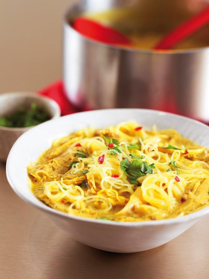 Thai Chicken Noodle Soup | Nigella's Recipes | Nigella Lawson
