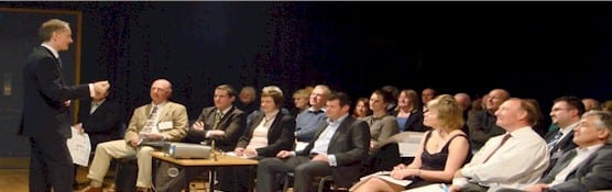 Nigel Temple presents digital marketing talk