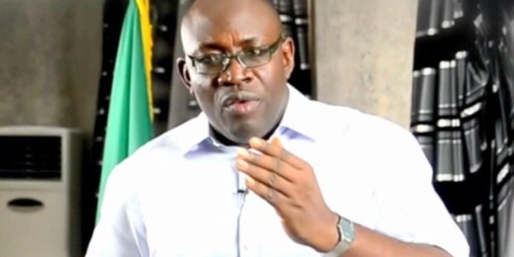 Governor Dickson of Bayelsa State