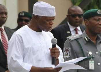 Comptroller General of Nigeria Customs Service, Col. Hameed Ali (rtd)